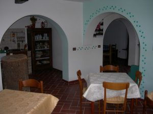 sala comune agriturismo Santa Croce umbria