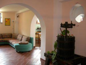 camino della sala comune agriturismo Santa Croce