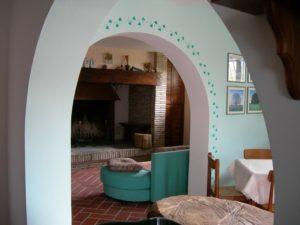 sala comune agriturismo Santa Croce Fossato di Vico